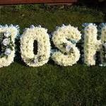 Josh funeral letters hydes florist doncaster