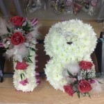 based number 18 funeral tributes hydes florists doncaster