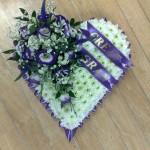 based purple heart hydes flroist doncaster
