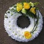 based_wreath2 funeral tributes hydes florists doncaster