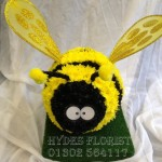 bumble bee bespoke funeral tributes hydes florists doncaster