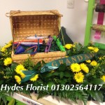 custom funeral tributes hydes florists doncaster fishing
