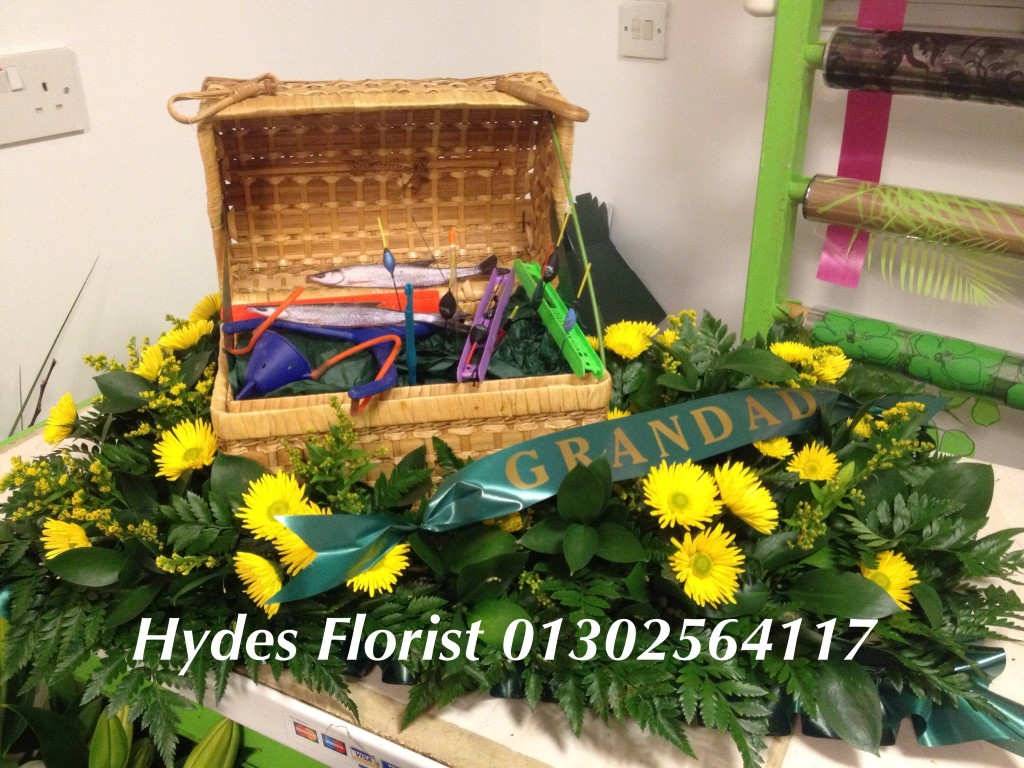 Hydes florist funeral tributes custom funeral tributes hydes florists doncaster fishing izmirmasajfo Image collections