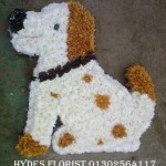 dog funeral tribute hydes florists doncaster