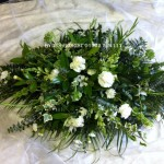 double ended spray hydes florist doncaster funeral flowers