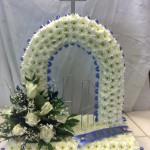 gates of heaven funeral tribute hydes florist doncaster