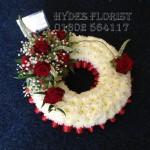 hydes florist wreath