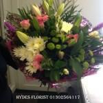 large handtied hydes florist doncaster mothersday