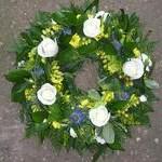 Loose Wreath funeral tributes hydes florists doncaster