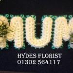 mum funeral tribute hydes florist doncaster