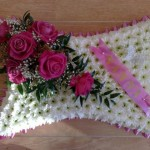 pink 21inch pillow Hydes Florist Doncaster