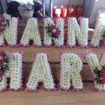 pink NANNA MARY hydes flroist doncaster