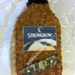 strongbow cider bottle bespoke funeral tributes hydes florists doncaster