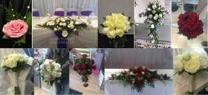wedding photos all hydes florist doncaster