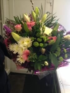 large handtied bouquet £60