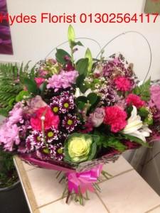 large handtied bouquet   £50