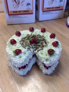 custom design cake baker funeral tribute
