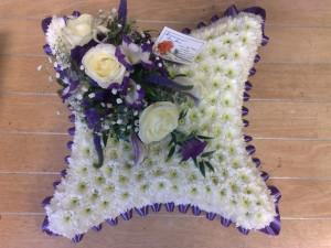 cushion purple  £50 (small)