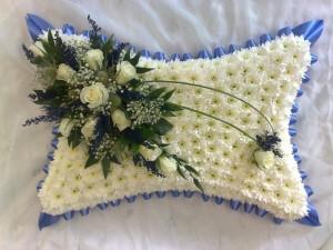 pillow royal blue  £65 (medium)