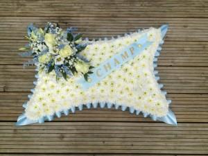 pillow baby blue  £65 (medium)