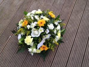 yellow posy florist choice from £25